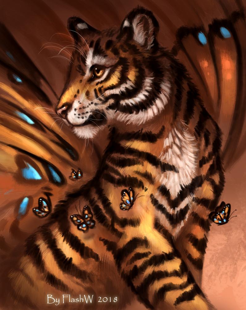 Butterfly by FlashW