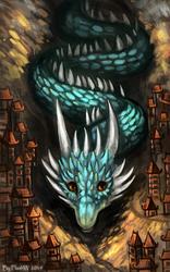 Friendly Dragon by FlashW