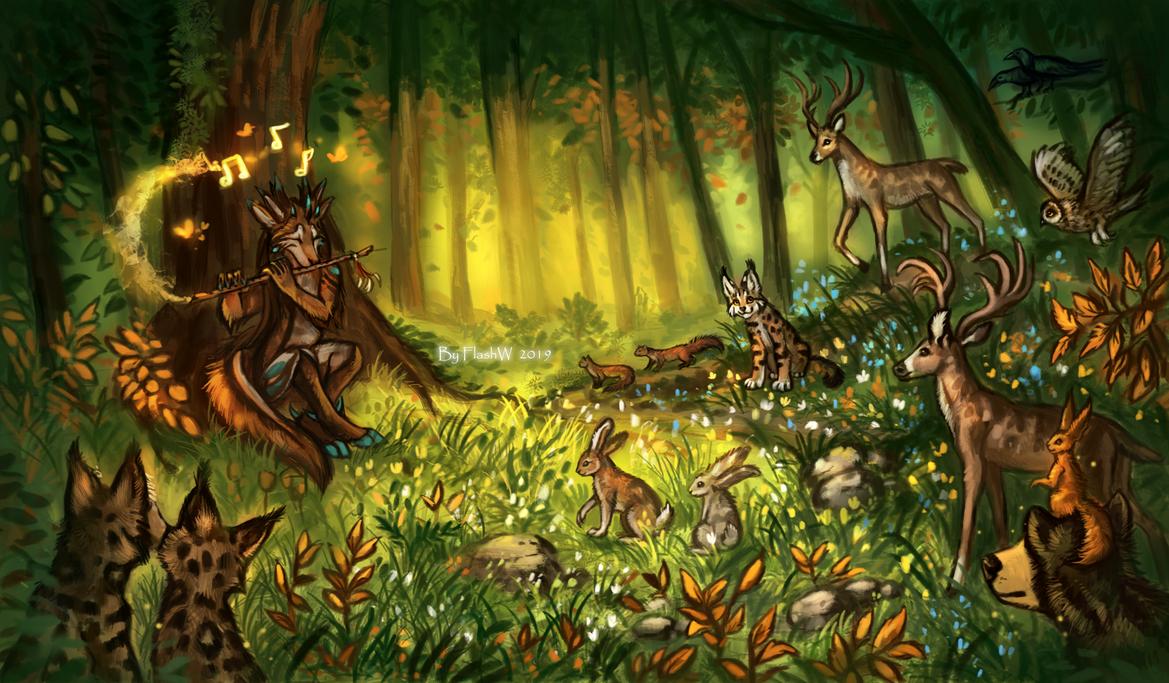 Forest melody by FlashW