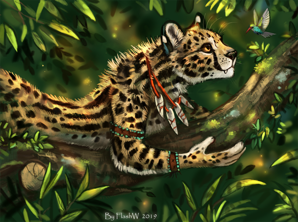 In the jungles by FlashW