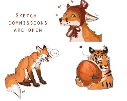 Sketch commissions OPEN