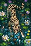 Curious Serval