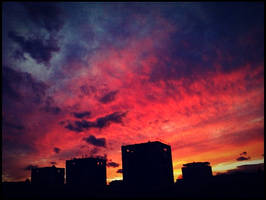 burning.sky by fieldeee