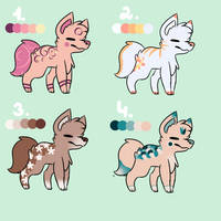 CANINE ADOPTS! 1/4 OPEN by beamiku