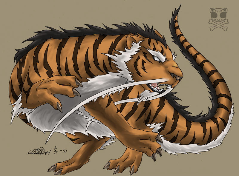 Tiger Dragon by Tiikeri on DeviantArt