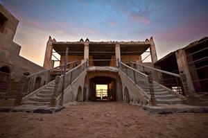 Uqair Fort by Thameralhassan