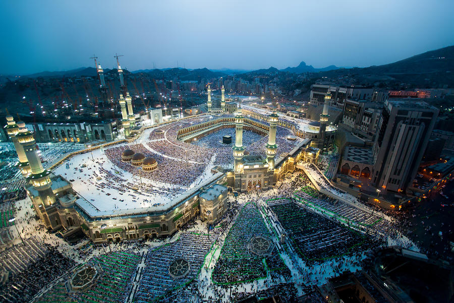 Holy Grand Mosque in Makkah
