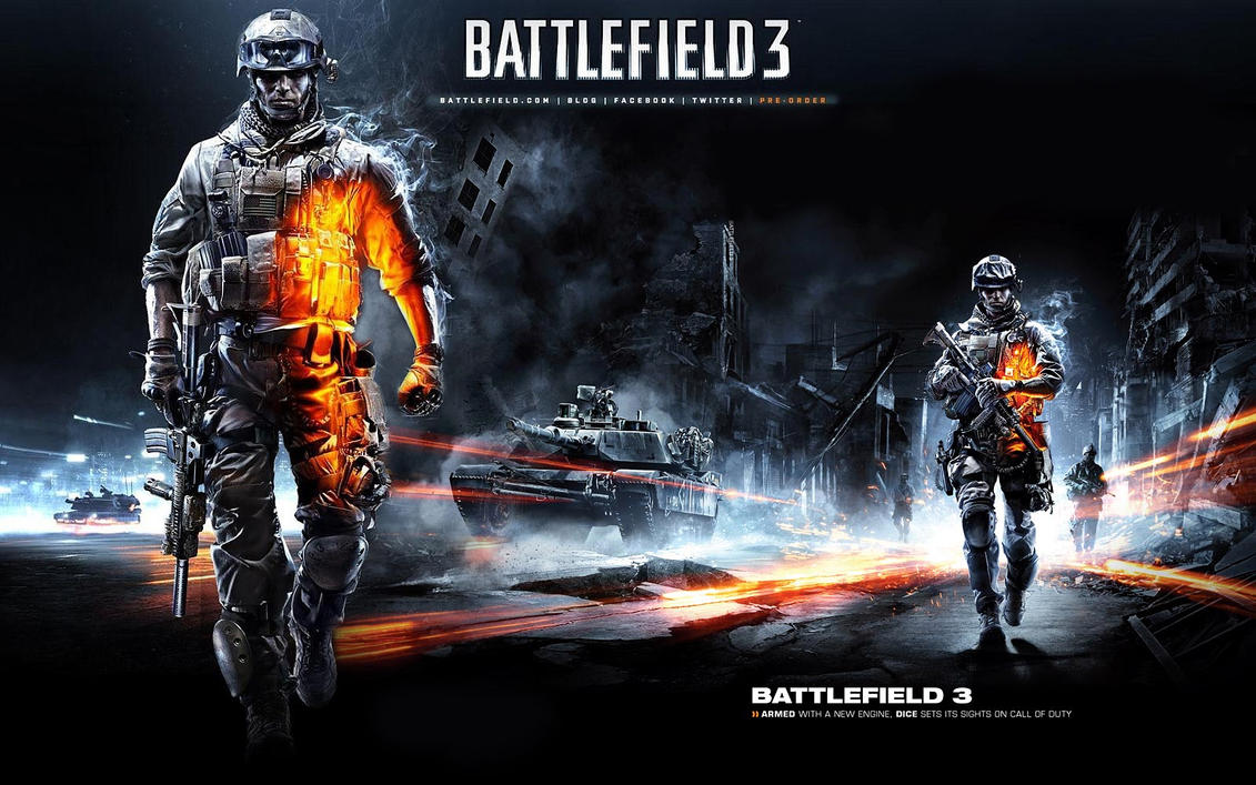 Battlefield 3 Wallpaper by marvnation