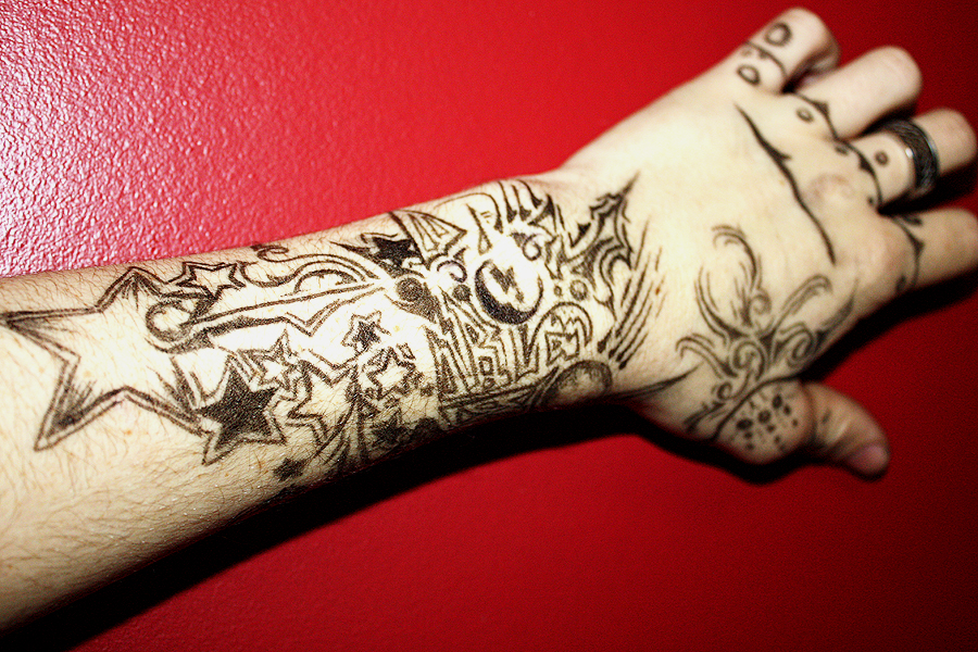 fountain pen tattoo by brian33 on deviantart. Black Bedroom Furniture Sets. Home Design Ideas