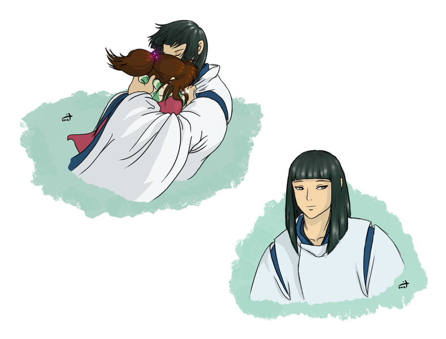 Spirited Away - Fluff by crusanite