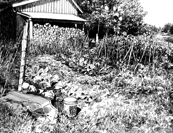 A yard by yumitaphilea