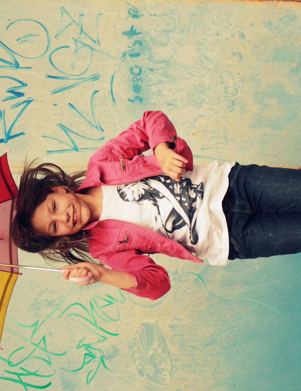 Jump little Girl by leblondi