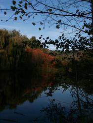 Small hint of Autumn by leblondi