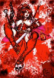 Bloody Monika by Steele01