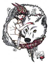 San from Princess Mononoke by Steele01