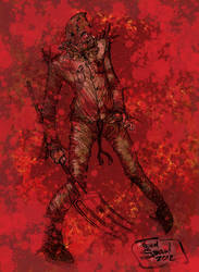 Bloody Scarecrow by Steele01