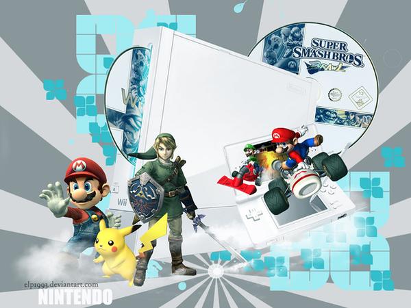 Nintendo Wall Nintendo_by_elp1993