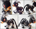 Houndoom Plush Commission
