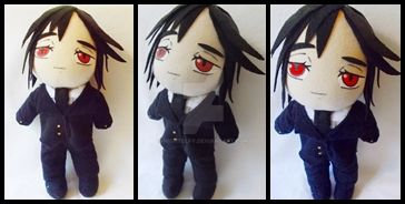 Sebastian Plush by nightelfy
