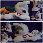 Amaterasu (Okami) Plush Commission