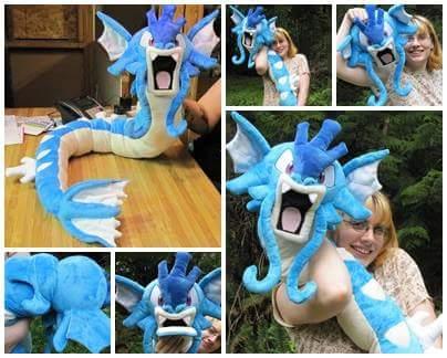 Giant Gyarados plush more photos
