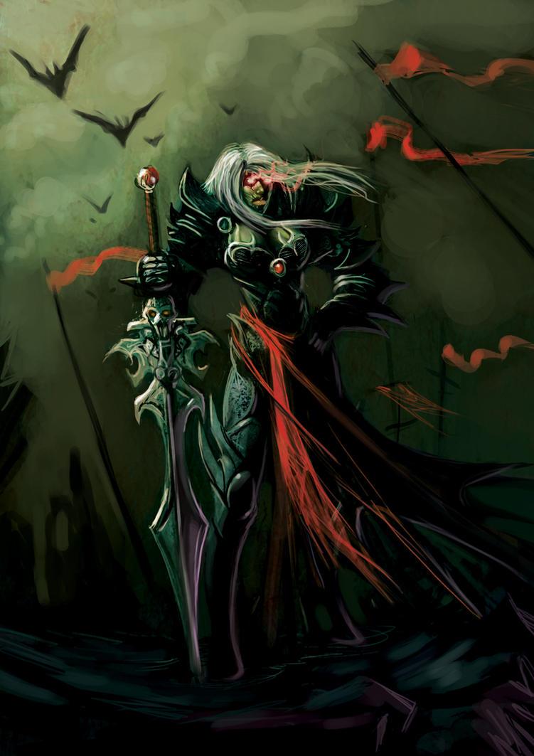 Vampire Warrior by ~DiegoGisbertLlorens on deviantART ...