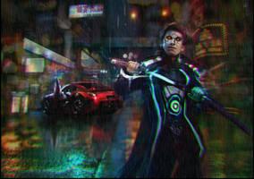 Cyber Hunter by MightyMoose