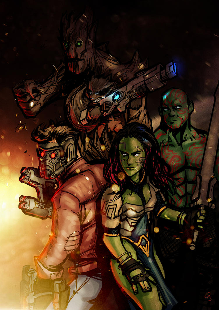 Guardians by MightyMoose