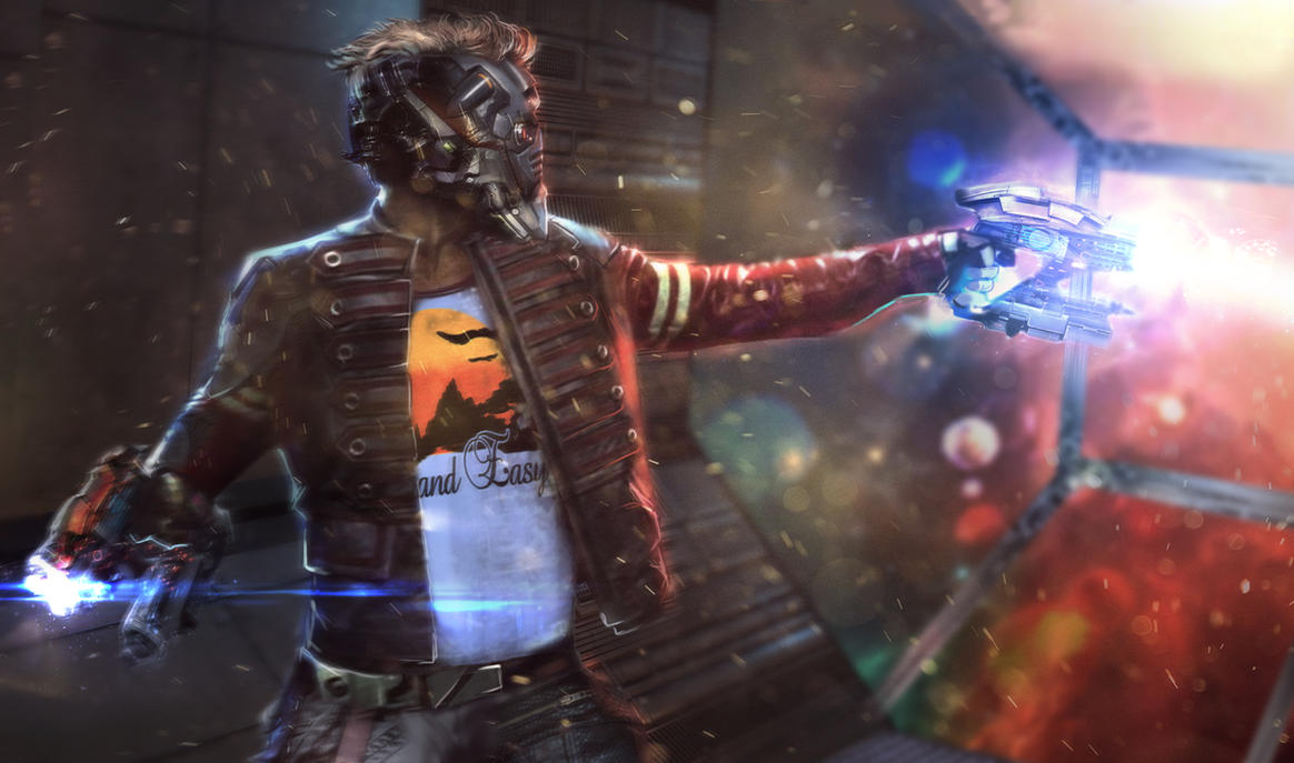 Star Lord FAN ART! by MightyMoose