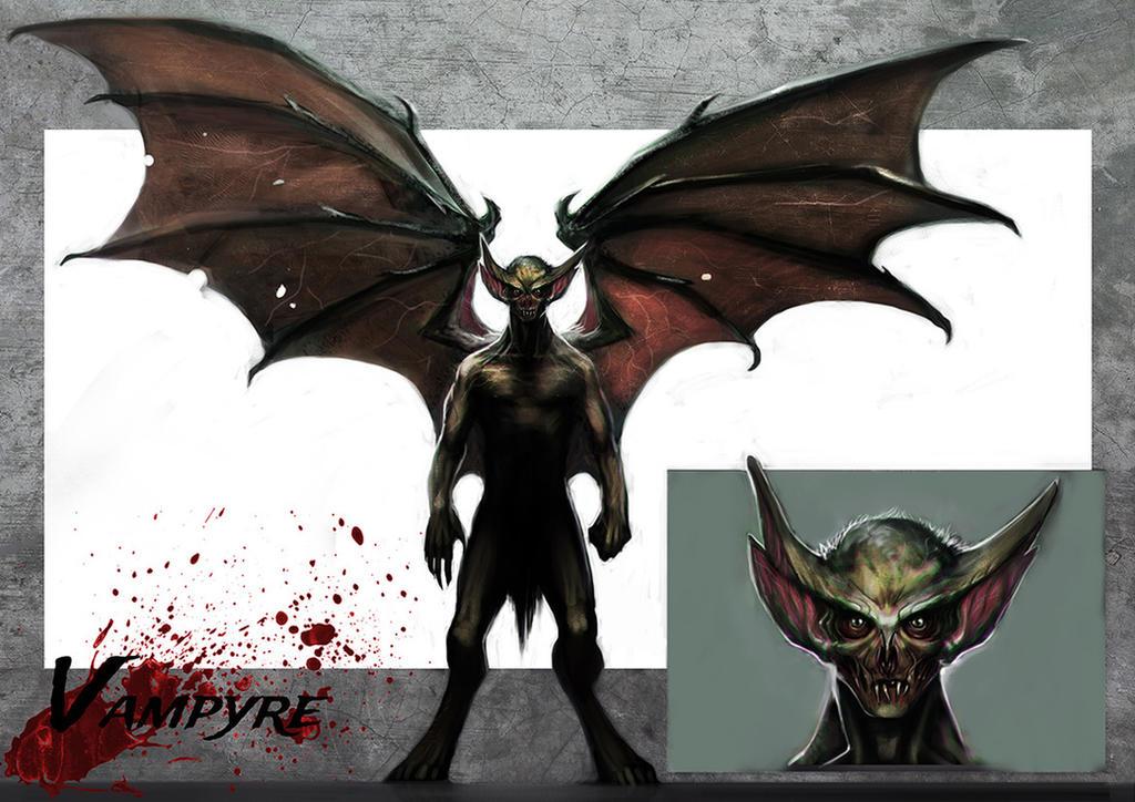 Vampire by MightyMoose