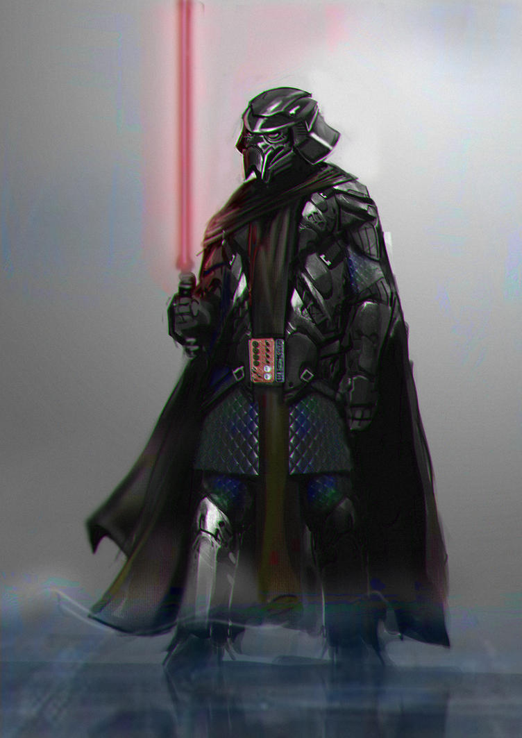 Vader Photobash by MightyMoose