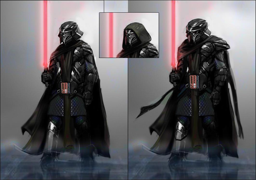Vader redux by MightyMoose