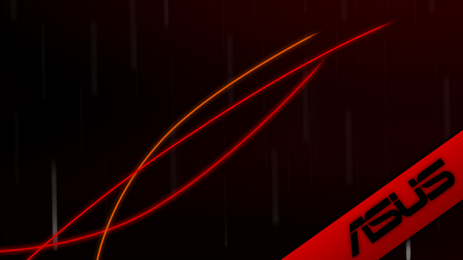 ASUS Red Wallpaper By Tandyman100