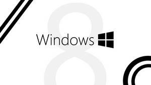 Windows 8 -- Black and White