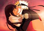 Naruto And Hinata by M-Shu