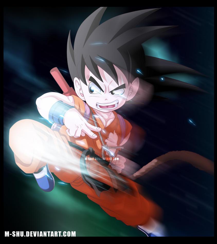 Dragonball-Goku by M-Shu