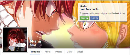 Join me on Facebook by M-Shu