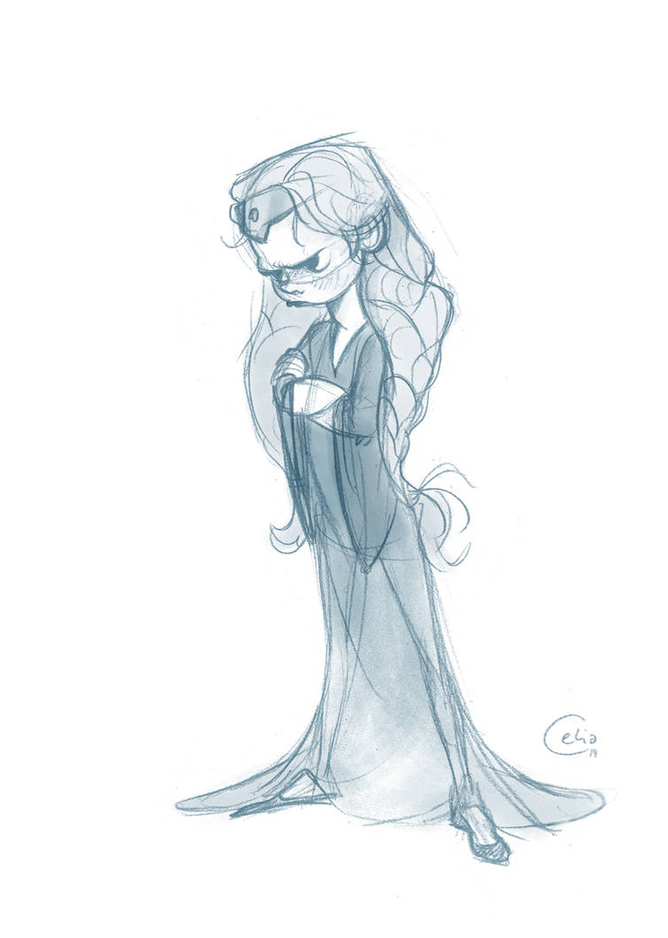 Princess is not amused. by Magermost
