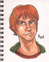 Ron Weasley marker bust by Anamated