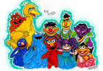 Sesame Street markers Commission