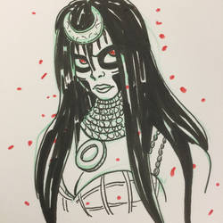 Enchantress sketch by Anamated