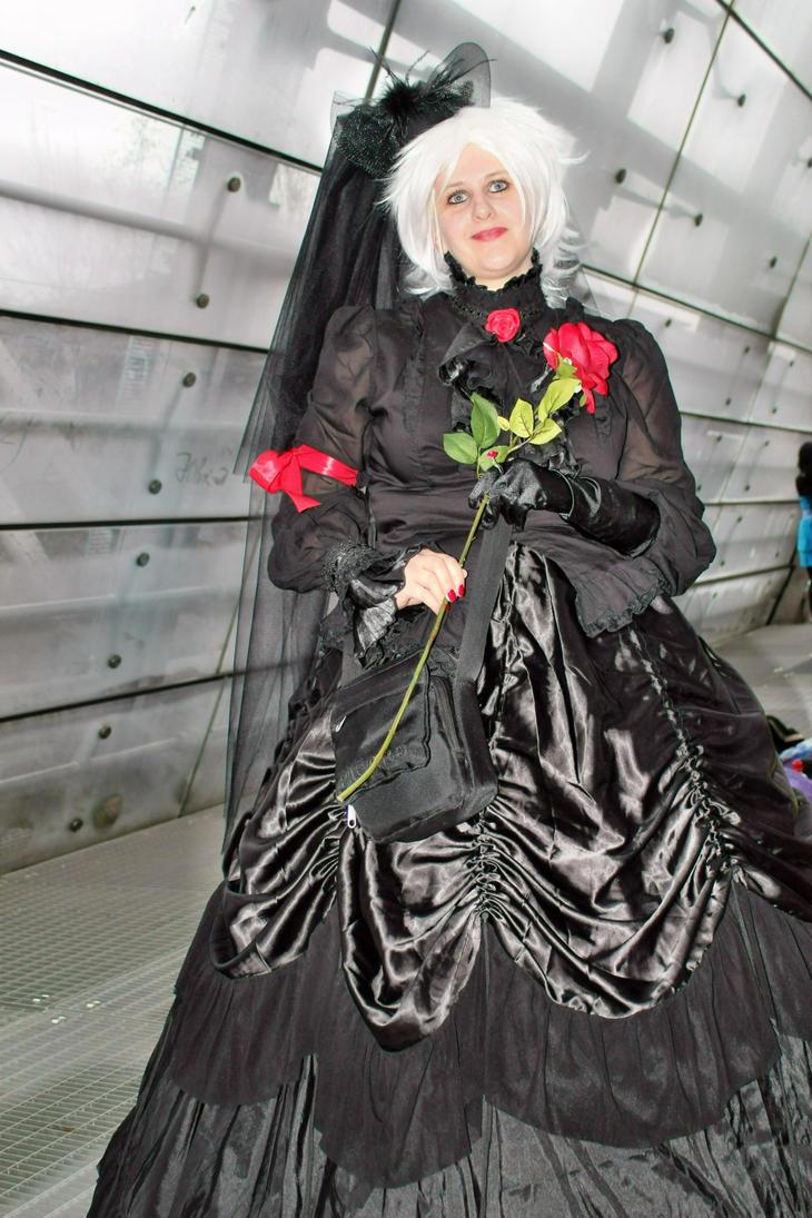 die Dame mit der roten Rose by GRANA53