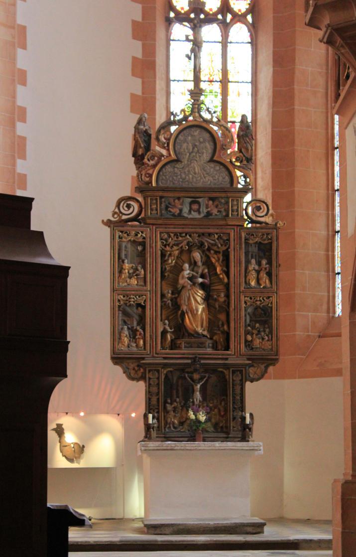 eine Kanzel in der St.Annenkirche by GRANA53