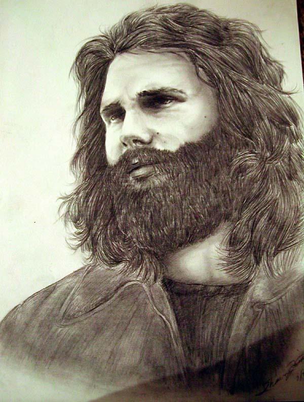 Jim Morrison by ladyshawn
