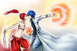 Erza and Gerard: love you till I die