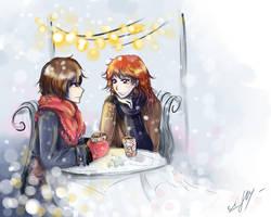 Winter cafe~ by Rinoa-Light-Leonhart
