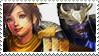 Hanzo x Nene :Stamp: by RebornySuperbia