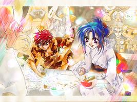 FMP - Summer Glow- wallpaper by yurekka
