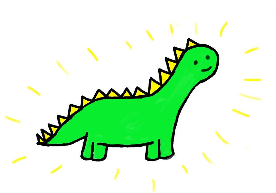 Rawr like a Dinosaur. by ColourMeMildlyAmused