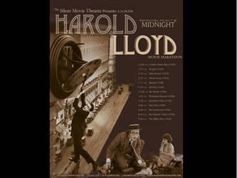 harold lloyd poster by mandy45503
